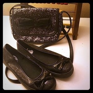 Other - Little girls shoes and purse combo
